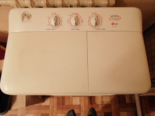 Продам стиральную машинку полуавтомат LG
