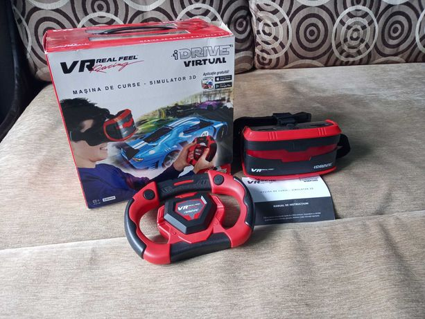 Joc video vr real feel racing simulator curse 3D