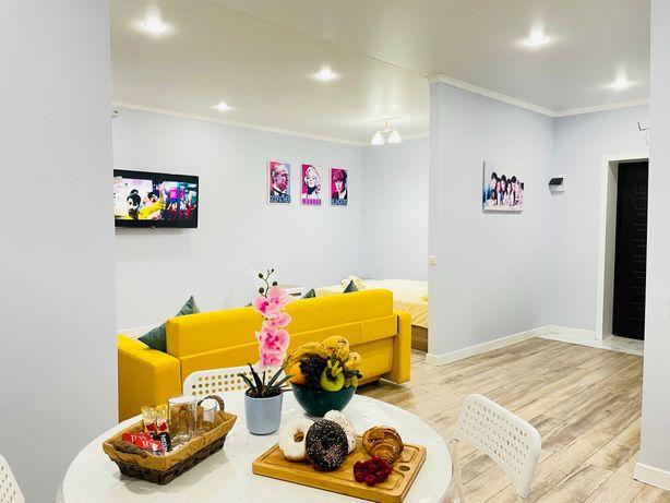 Превосходная 1-комнатная квартира (студия) в центре города