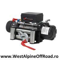TROLIU auto X-POWER WINCH 10000 LBS 12V (forta tractare 4545Kg) OFERTA