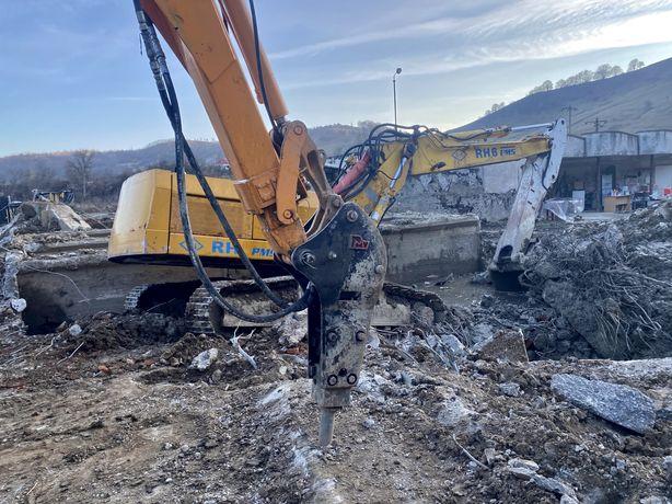 Demolari excavari piconari fundatii drumuri forestiere constructii