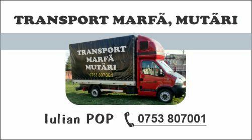 Transport marfa, mutari!!!