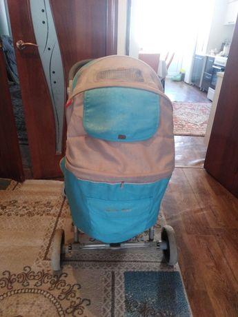 Коласка детская зима - лето и сумка кенгуру в комплекте