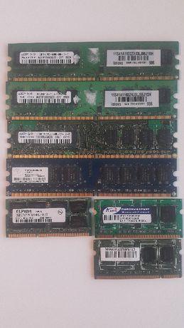 Memorie RAM laptop si desktop, DDR2 si DDR3 - 512MB, 1GB, 2GB,