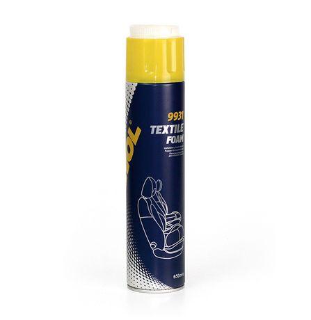 Спрей за Почистване на Текстил Тапицерии с четка - пяна 9931 / 650мл.