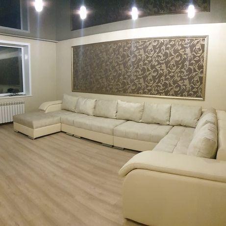 Новые диваны  на пружинных блоках и на змейке, перетяжка мягкой мебели