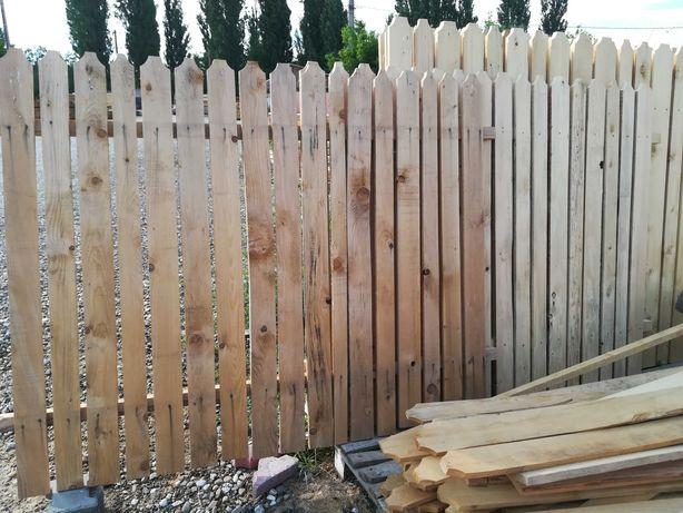Vând panouri de gard din lemn producator