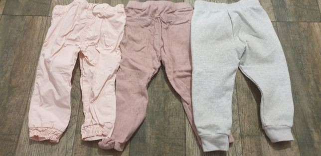 Pret pt toti 3 Pantaloni Zara,Disney,UnitedColours