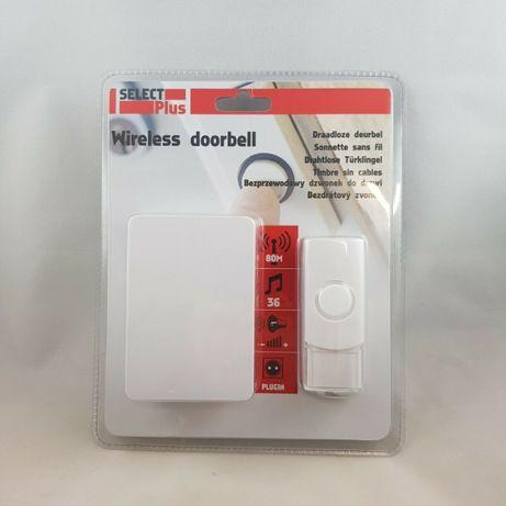Безжичен звънец за врата - Select Plus. Двацвята- Бял или Черен
