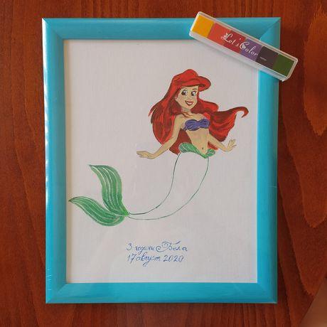 Рисуване на детско дърво за отпечатъци по ПОРЪЧКА