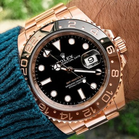 Rolex GMT Master II Rose 126715
