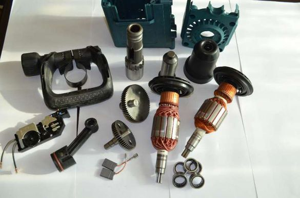 Резервни части Бош Bosch GSH 11 GBH 11 Ротор,зъбно,електрони