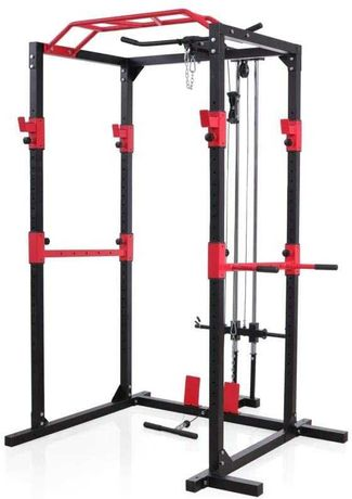 Fitness PowerRack multifunctional inclusiv helcometru + bara tractiuni