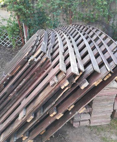 Gard de lemn 25m