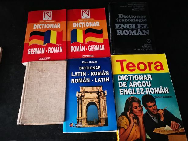 dictionar roman german latin englez frazeologic francez proverbe