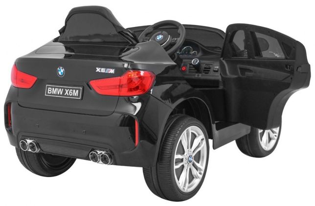 BMW X6M (2199) Negru metalizat, masinuta electrica pentru copii