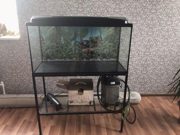 Продам аквариум все в комплекте что на фото