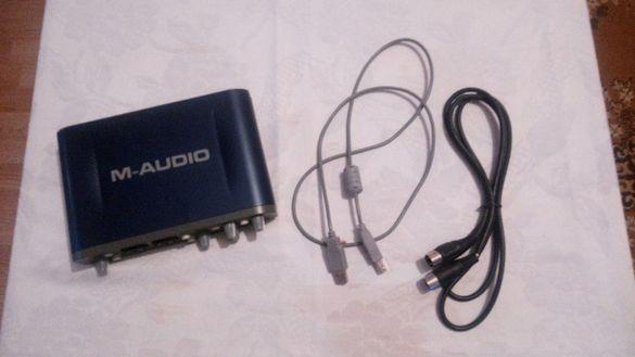 Звукова карта M-аудио фаст трак про