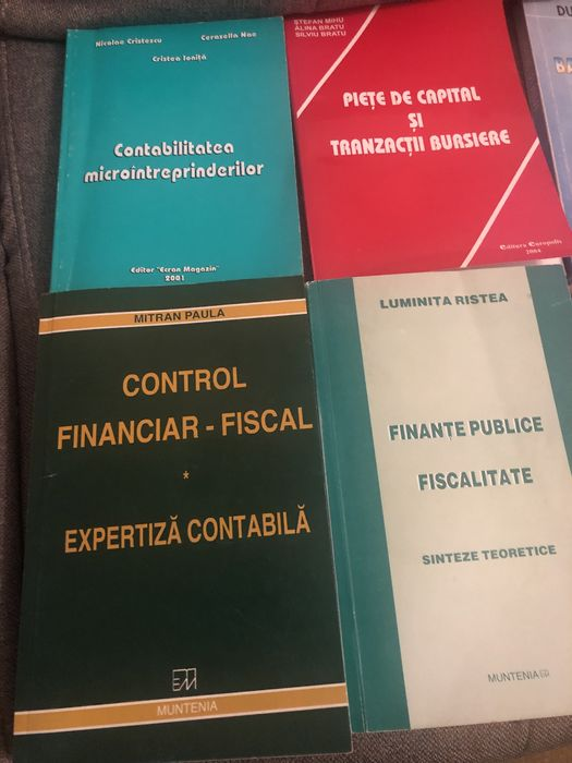 Carti contabilitate financiara.