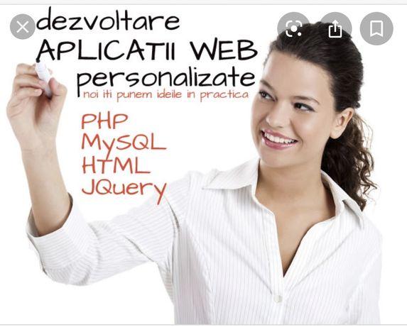 Realizez Aplicatii web/android/ios