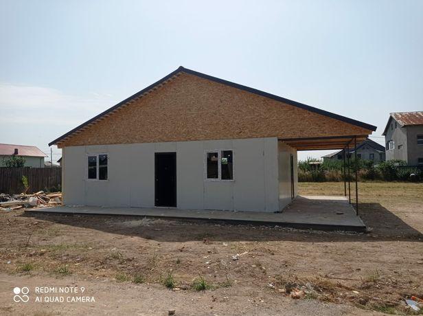 Construiesc case din panouri termoizolante