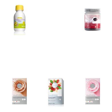 16-41 лева WELLNESS продукти от Орифлейм/Oriflame