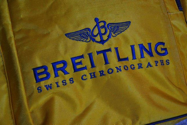 Breitling swiss chronographs--rucsac--original