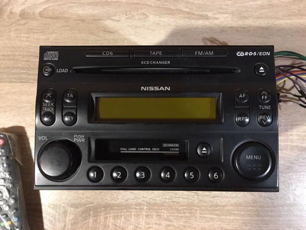 Cd cass player nissan 6 cd