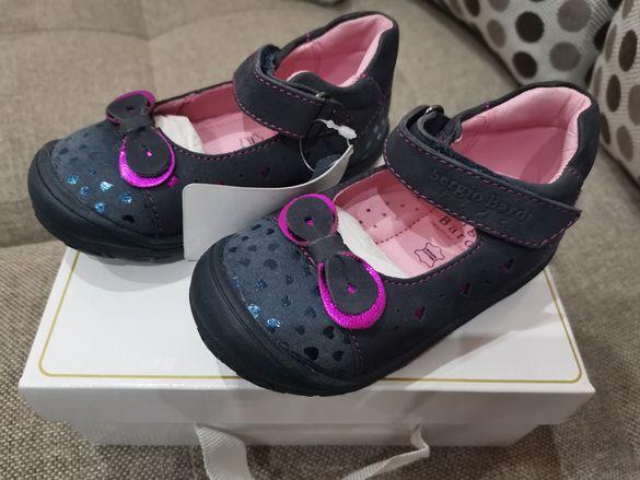 Бебешки обувки Sergio Bardi 22 номер