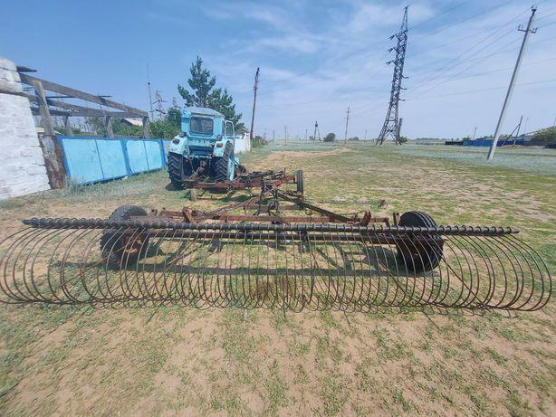 Грабли на трактор