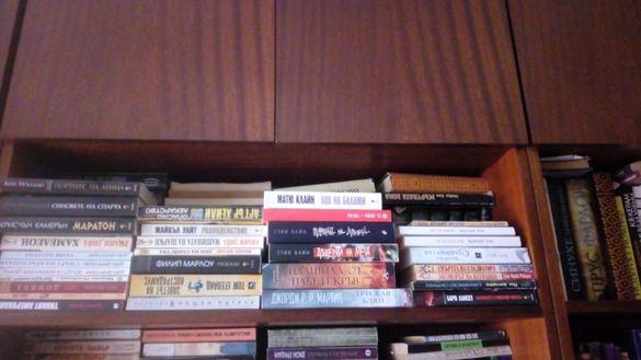 Страхотни книги от жанрове: приключенски, исторически и криминал