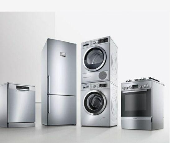 Ремонт стиральных и посудомоечных машин,электроплит и водонагревателей