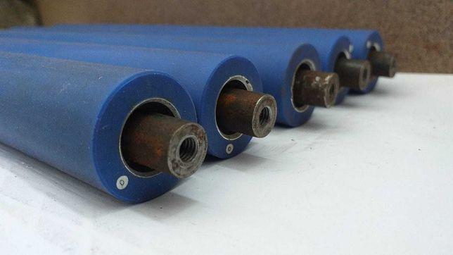 Role cauciucate fi 30x305 mm . Pret de producator. Ax filetat