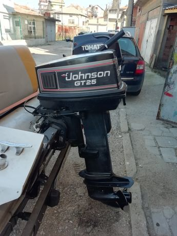 Двигател Johnsan 25кс двутактов дълък ботуш