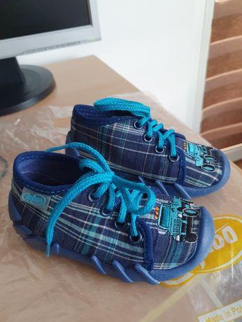 Бебешки обувки за прохождане с дишащо ходило Befado