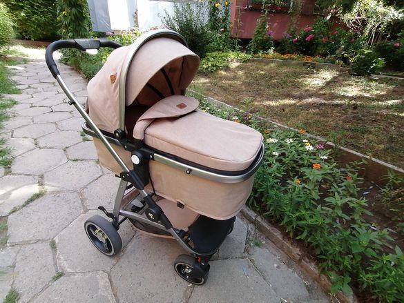 Бебешка количка Lorelli Sola Set 3 in 1/ Лорели Сола Сет 3в1 + подарък