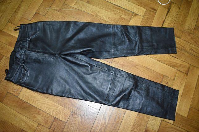 Pantaloni dama din piele
