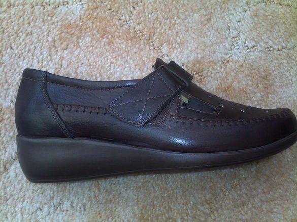 Нови дамски обувки от естествена кожа №36