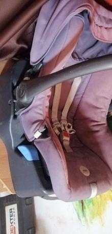 Cărucior copii inglesina zippy free cu scoică si isofix pt auto