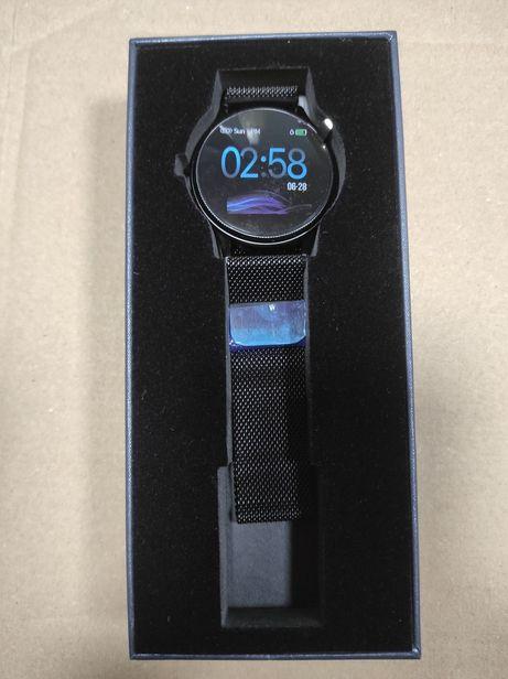 Smartwatch Banlvs MK08 iOS-Android-Unisex-2 curele metal/silicon - NOU