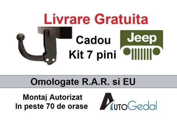 Carlig Remorcare Jeep Cherokee 2001-2007 Livrare Gratuita - Omologat