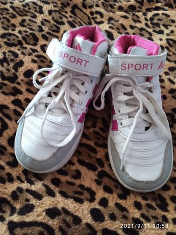 кроссовки на девочку 28 размер