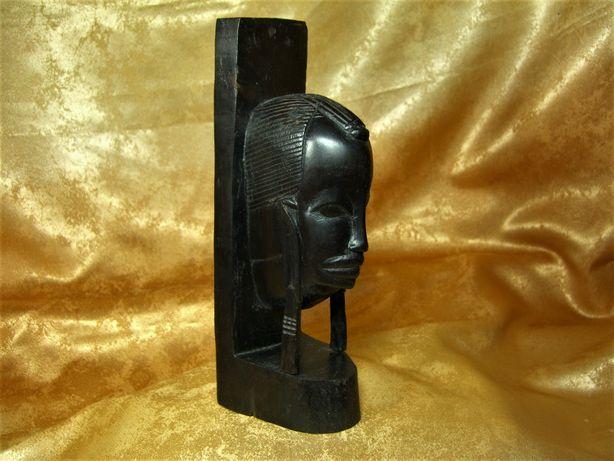 Sculptura abanos Africa, colectie, cadou, vintage