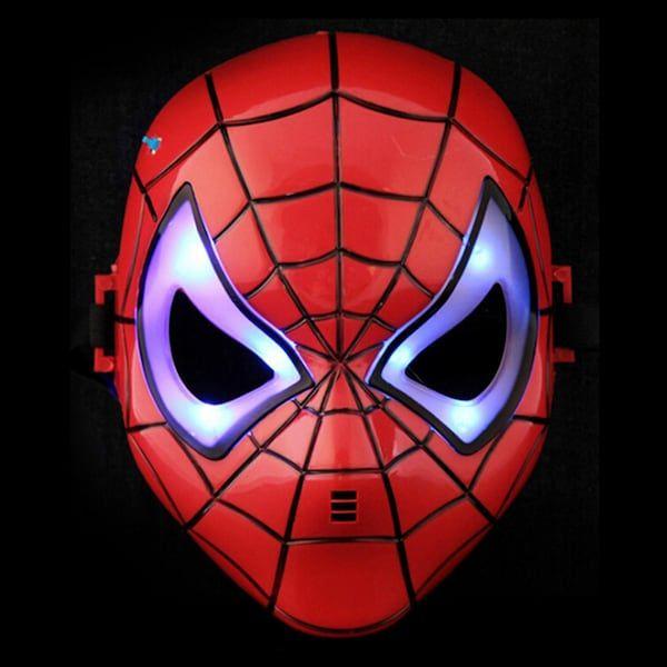 Светеща Маска Спайдърмен, маски на спайдърмен, mask spiderman гр. София - image 1