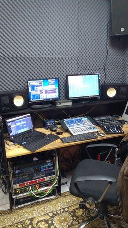 """Звукозаписно студио """"Бридж Парти"""" отдава помещения под наем за уроци ."""