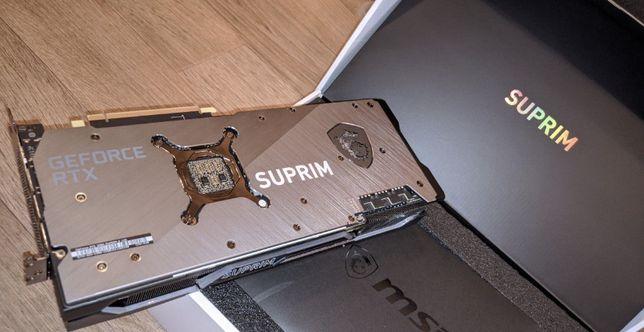 Видеокарта MSI RTX 3080 Suprim X 10G