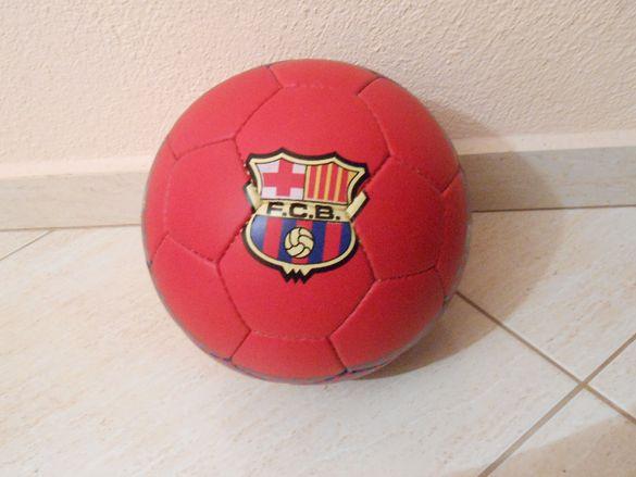 Червена Топка Барселона Размер 5ца