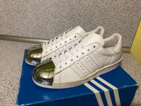 ОРИГИНАЛНИ *** Adidas Originals Superstar Metal Toe Silver Edition