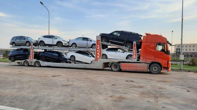 Перевозка автомобилей из Алматы в Астану