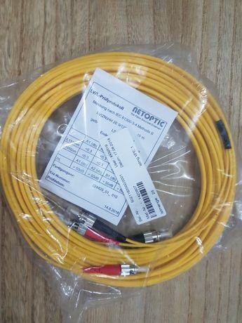Cablu patch cord fibra optica st-st 10m